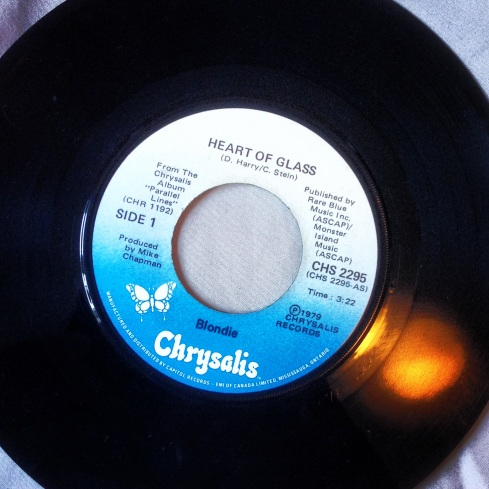 Heart of Glass Blondie 45t