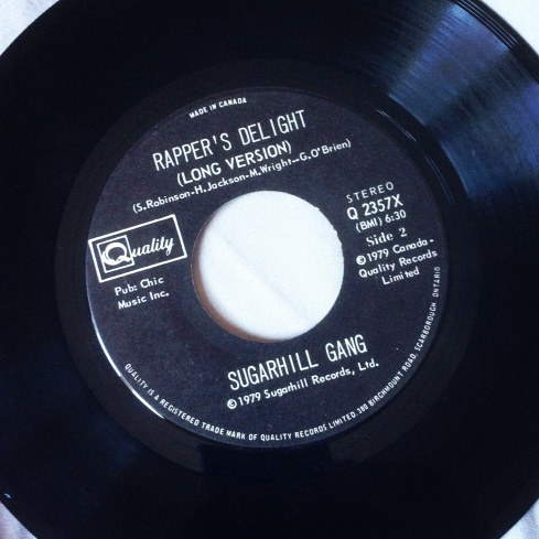 Sugarhill Band Rapper's Delight 45t.