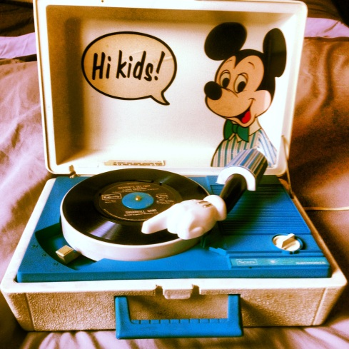 Tourne-disque Mickey Mouse